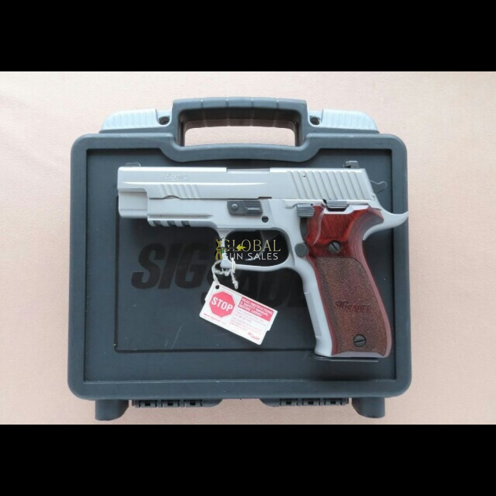 2014 Vintage Sig Sauer P226 Elite Stainless 9mm Pistol w/ Box, Manuals. Minty Discontinued Model