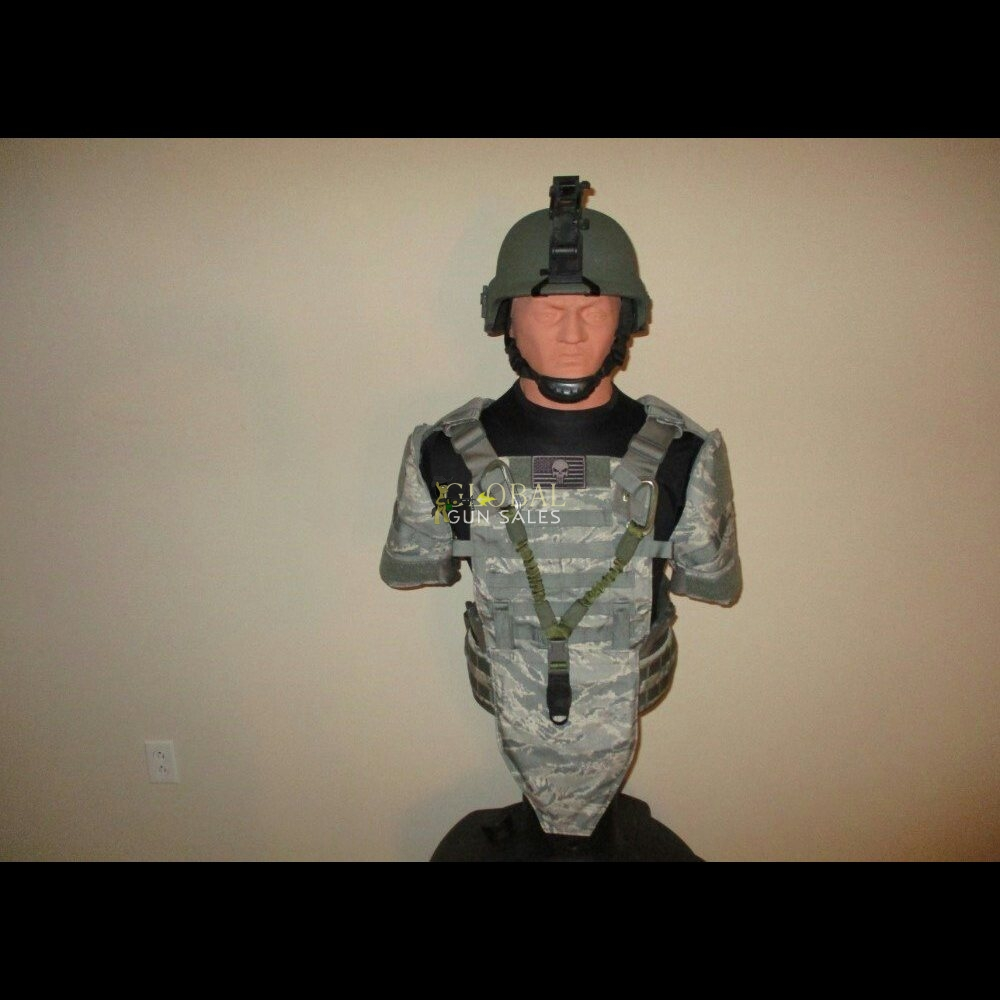 "ABU ""AIRMAN BATTLE UNIFORM"" CAMO TACTICAL VEST ARMOR PACKAGE!"