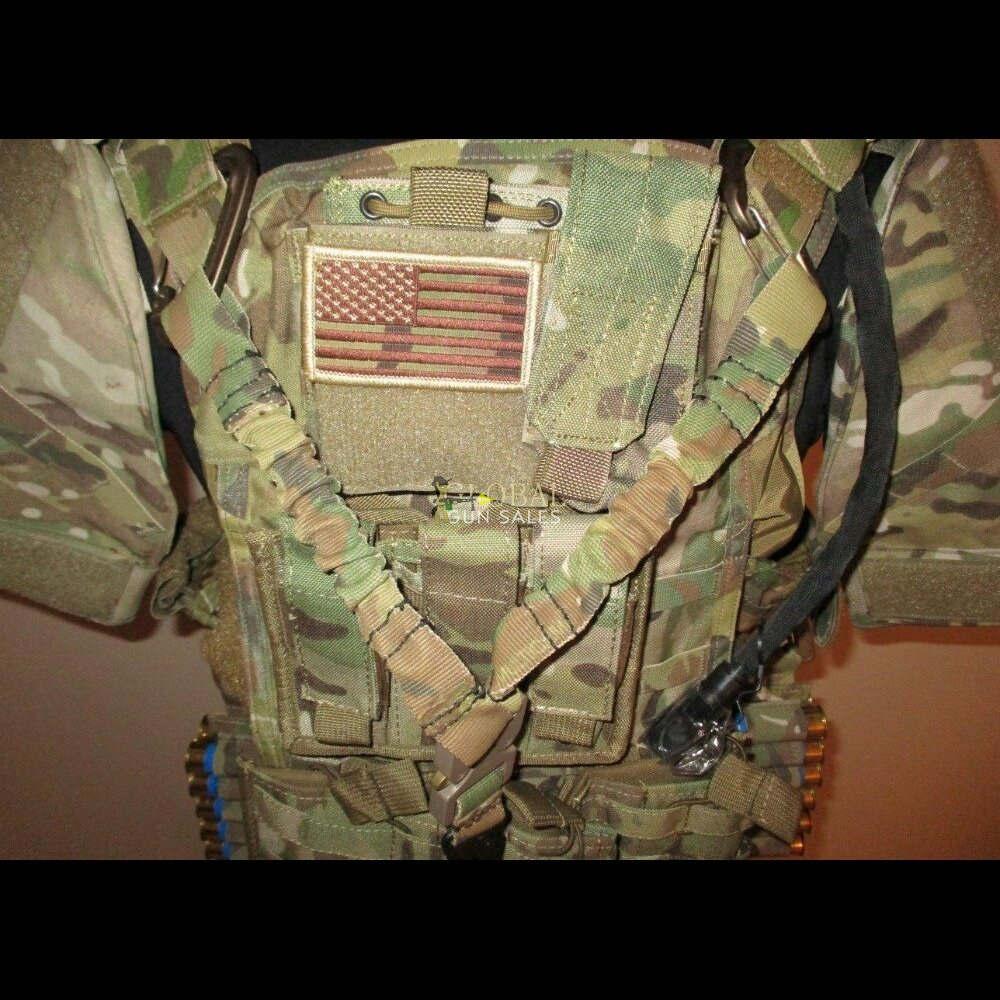 PARACLETE BODY ARMOR VEST PACKAGE, SPECIAL FORCES ISSUE, Multicam Camo RARE