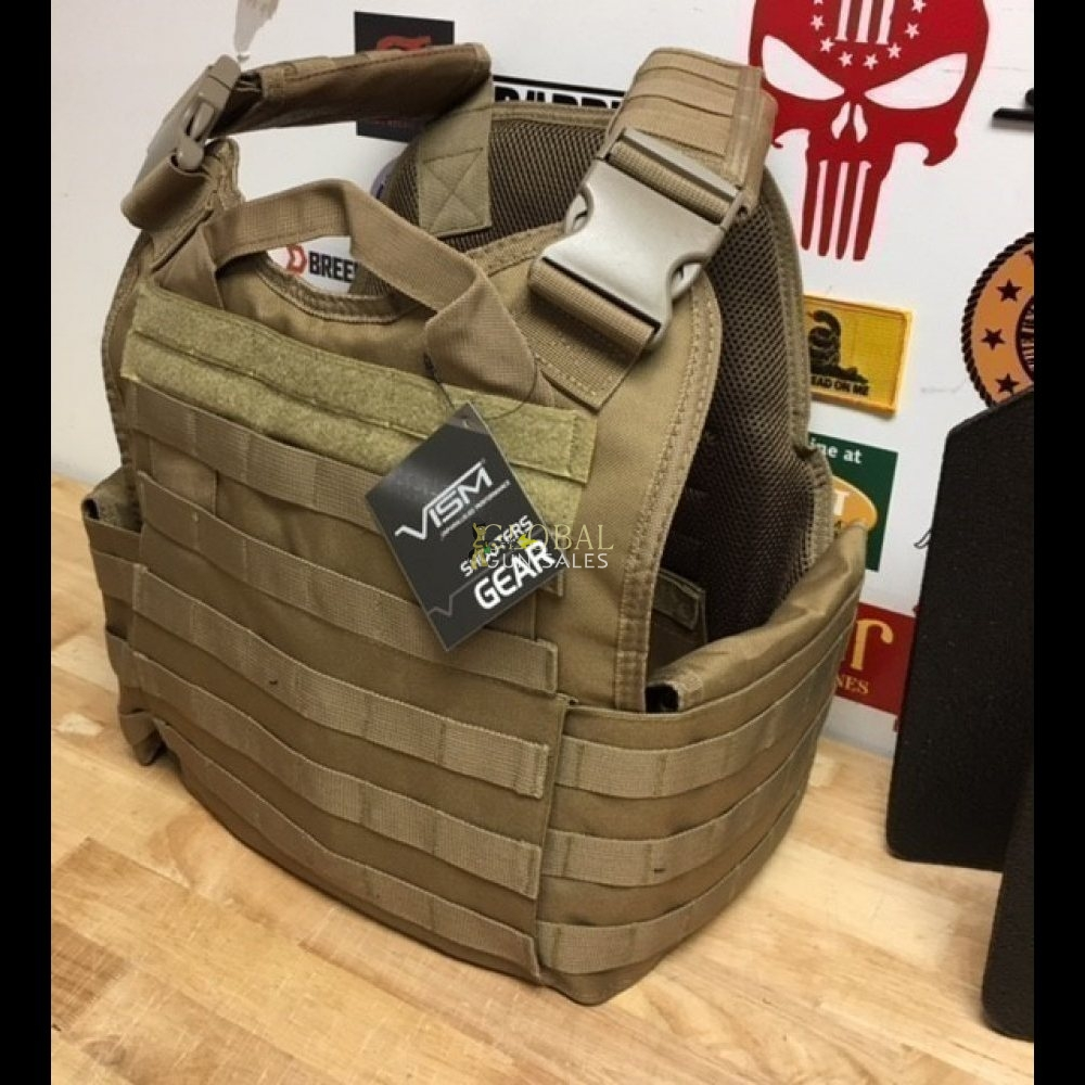 Tactical Vest LIII Armor Plates Stop .308 7.62 NF