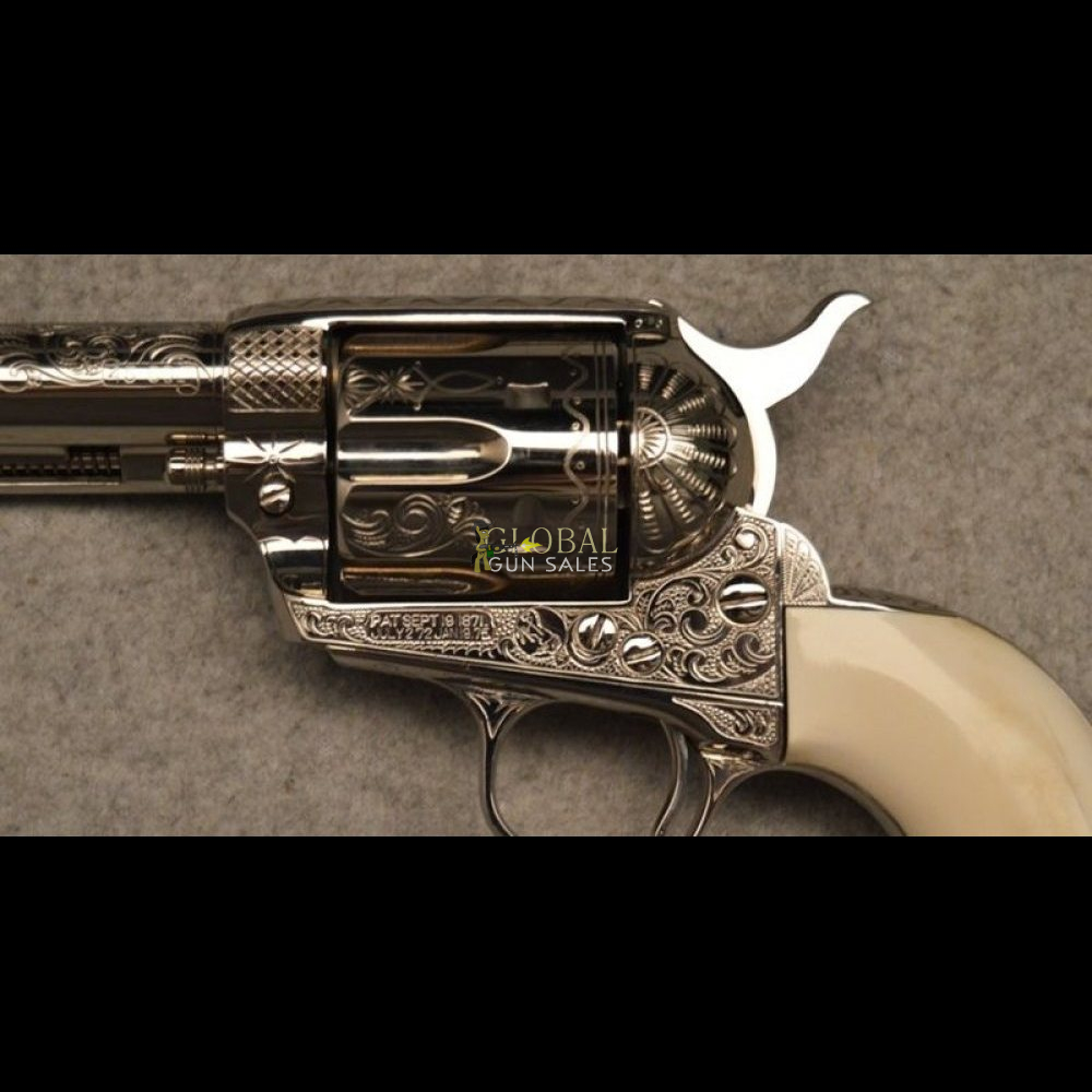 Colt ~ 1st Generation Engraved ~ .45 Colt