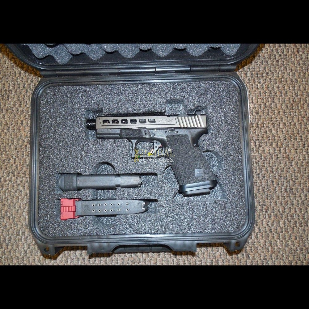 ZEV GLOCK 19 CUSTOM 9 MM PISTOL