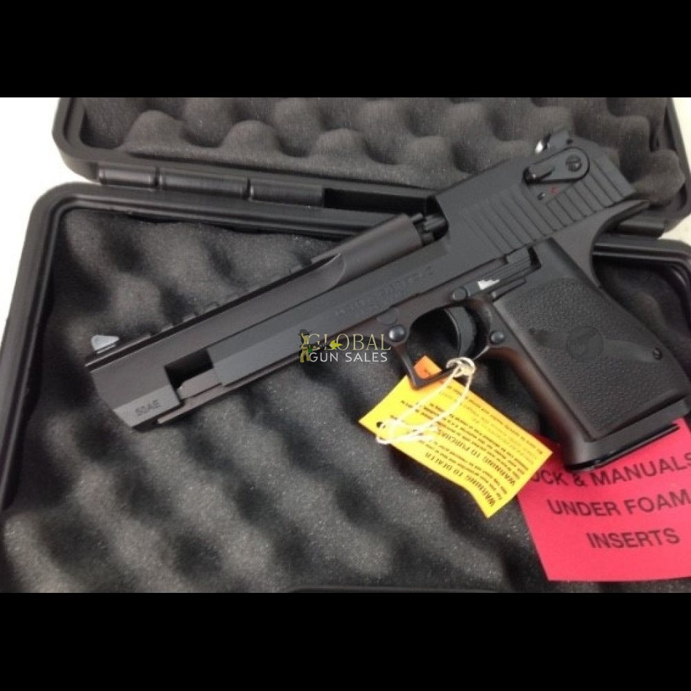 Magnum Research Desert Eagle 50 AE BLACK DE50