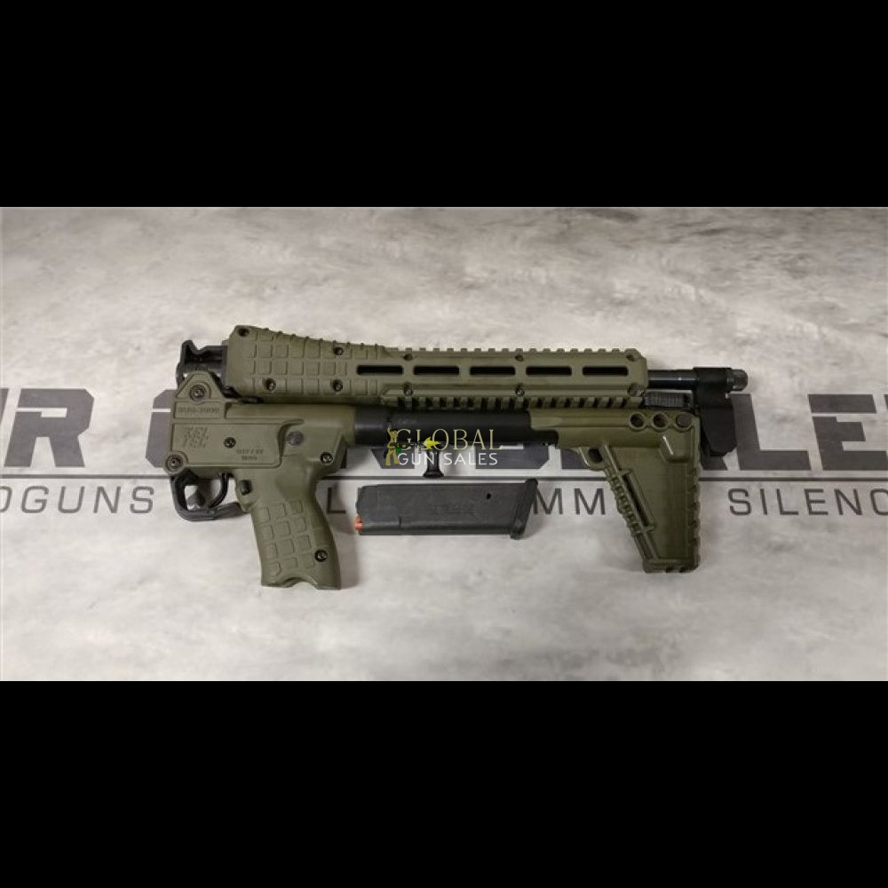 KEL-TEC SUB 2000 9MM GEN 2 USES GLOCK 17 MAGAZINES SUB 2000 NEW