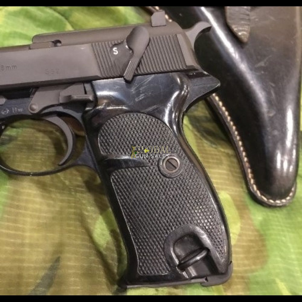WALTHER P38 9MM PISTOL W/HOLSTER