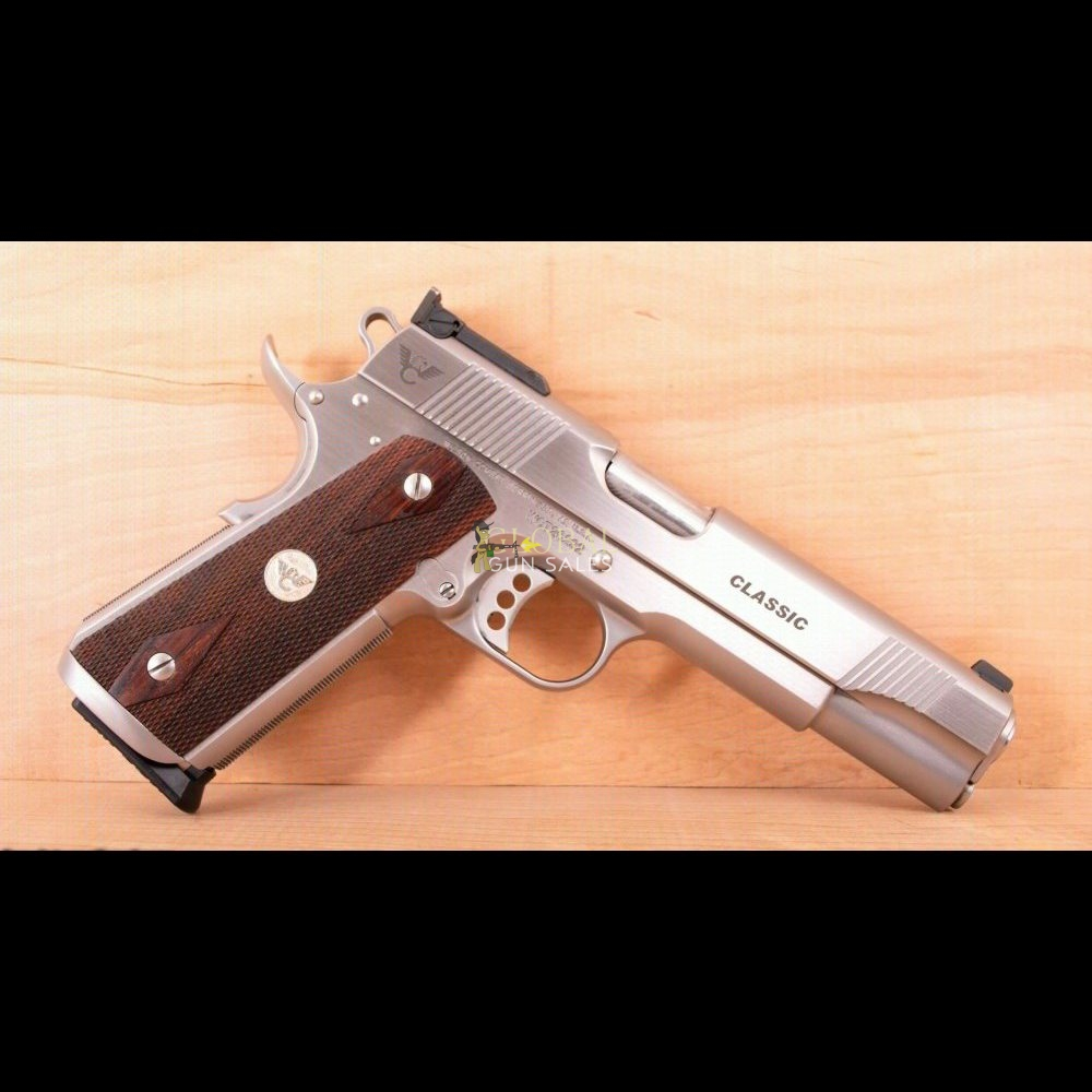 Wilson Combat 9mm – CLASSIC, STAINLESS