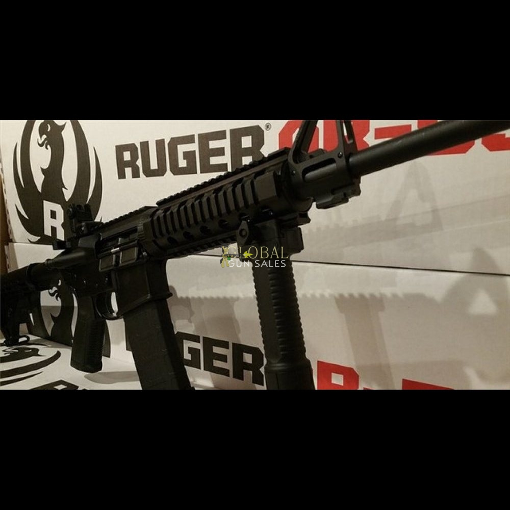 RUGER AR 15 5.56 M4 SEMI AUTOMATIC RIFLE 5.56 223 5.56 NATO