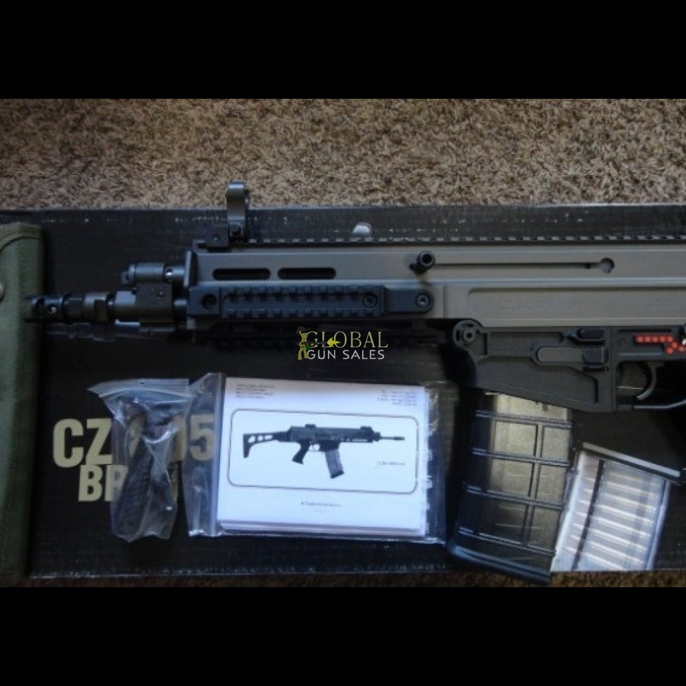 CZ 805 BREN A2 10.9 INCH POST SAMPLE MACHINE GUN