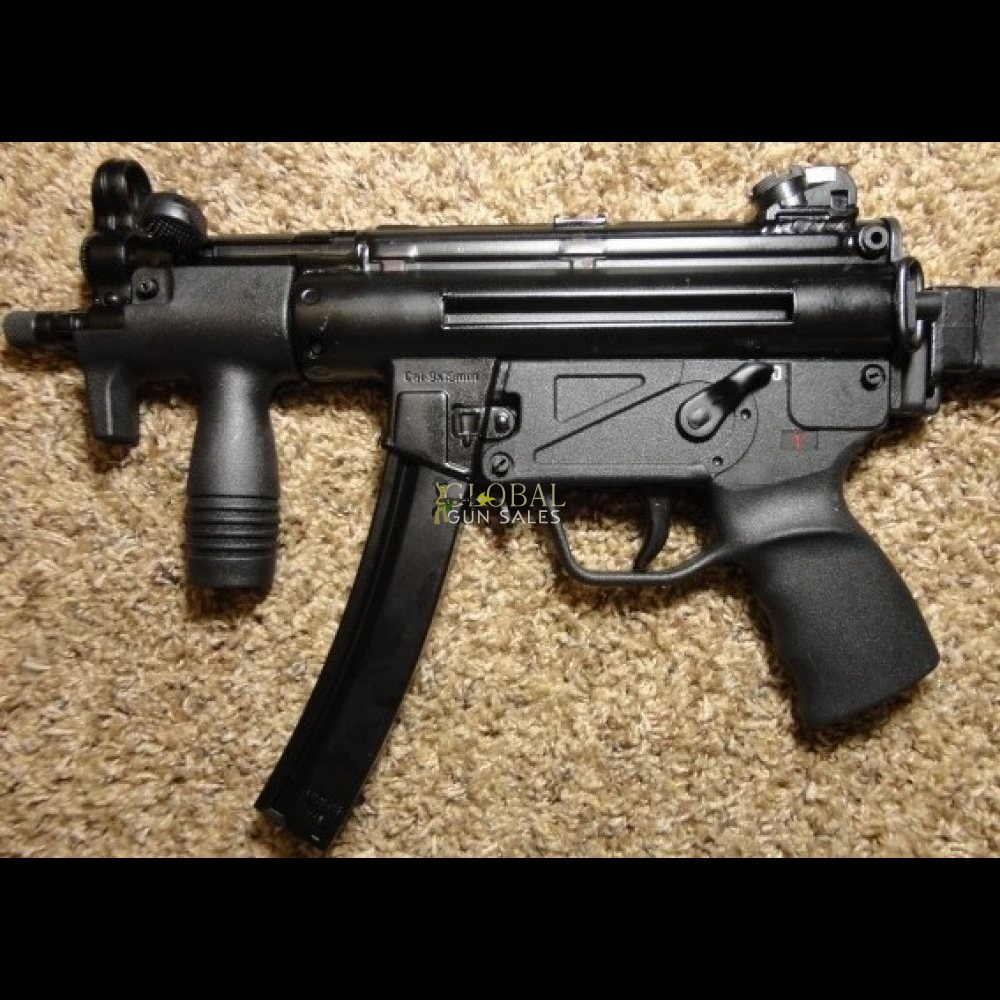 MP5-K ZENITH Z-5P 9MM POST 86 SAMPLE MACHINE GUN
