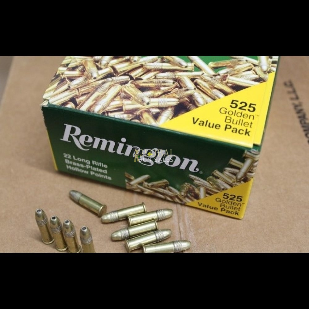 Remington Golden Bullet 22LR 6300Rnd Case