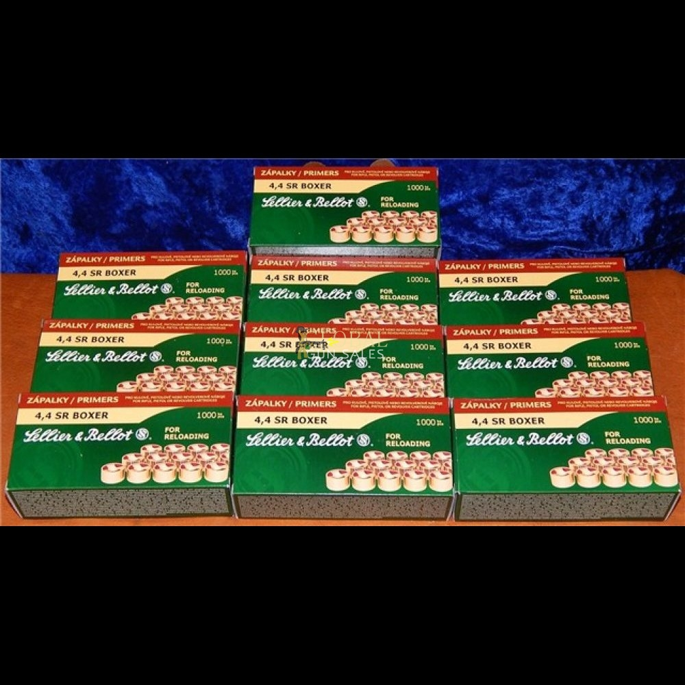 10000 PREMIUM SELLIER & BELLOT SMALL RIFLE PRIMERS