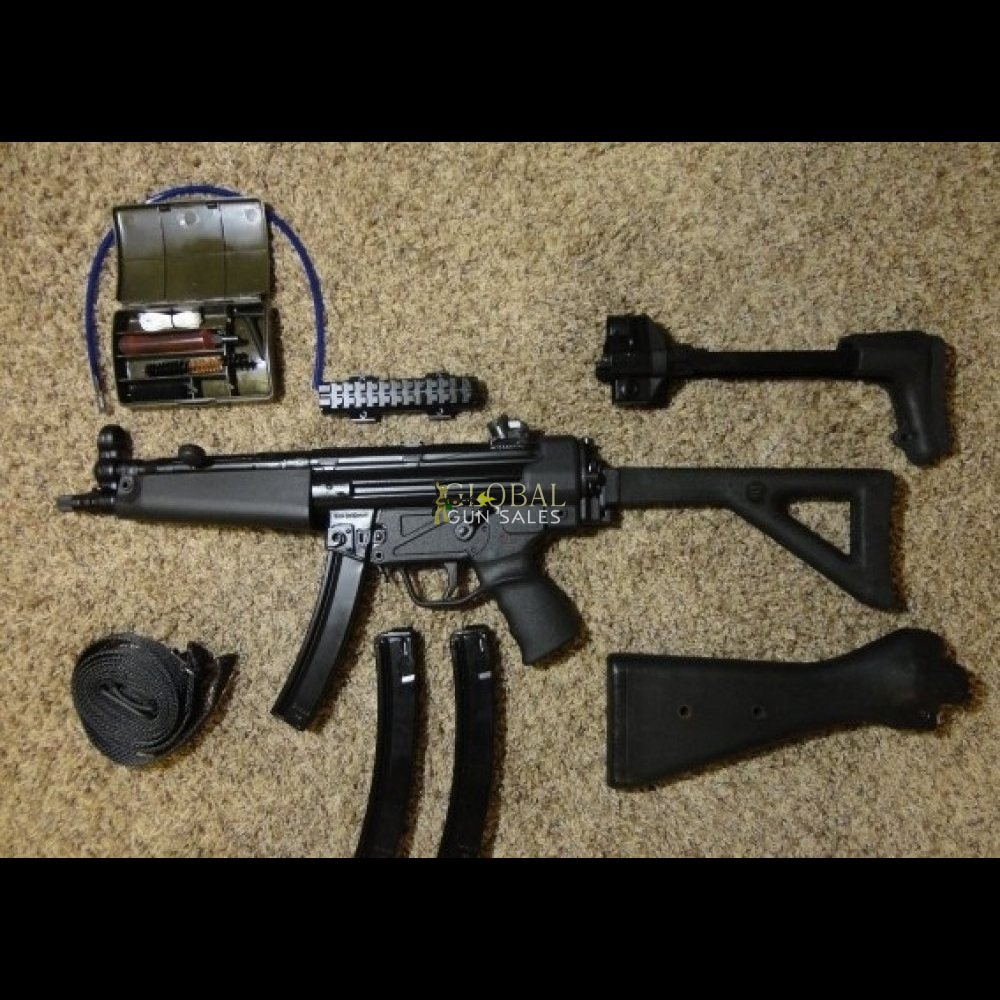 MP5 ZENITH Z-5RS 9MM POST 86 SAMPLE MACHINE GUN