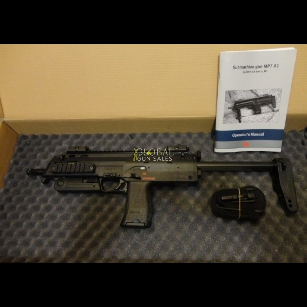 HECKLER AND KOCH MP7-A1 NEW IN BOX
