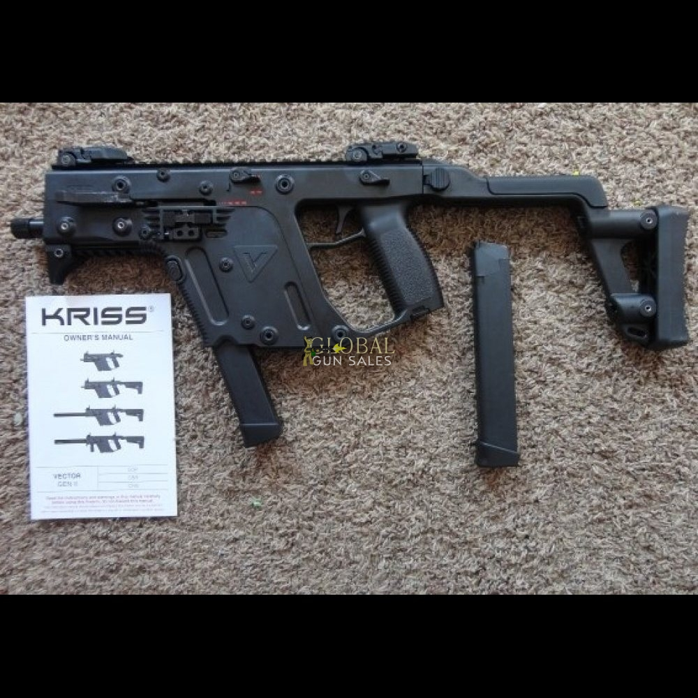 KRISS VECTOR 45 SMG POST SAMPLE MACHINE GUN NEW! | Global