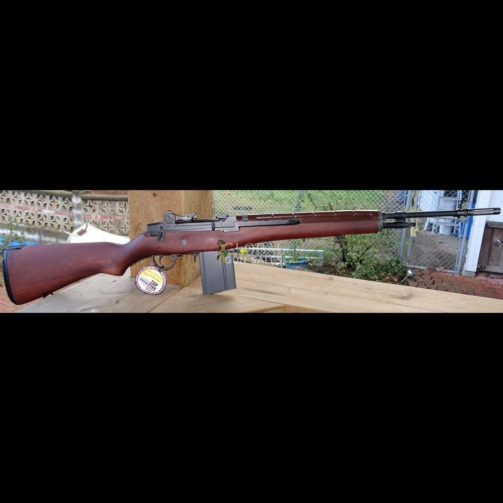G&G GR14 AEG AIRSOFT RIFLE TYPE 57 R.O.C. WALNUT WOOD STOCK