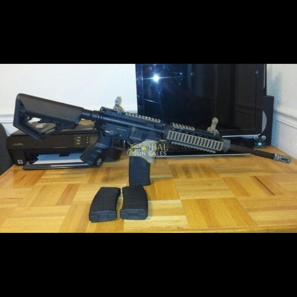 CUSTOM KWA FULL METAL KM4 RIS LIPO READY AEG