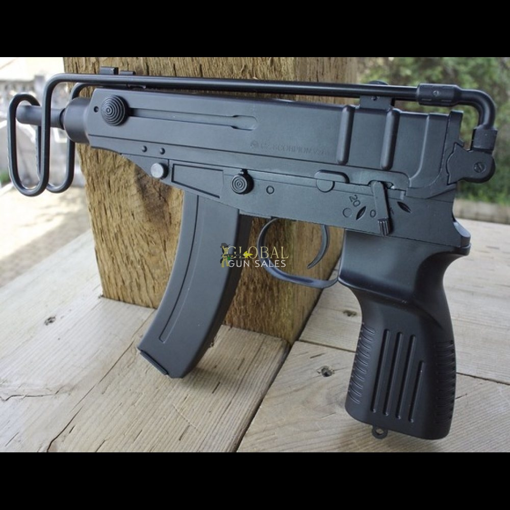 ASG CZ SCORPION VZ61 AEG 6MM AIRSOFT GUN TABLE TOP REVIEW