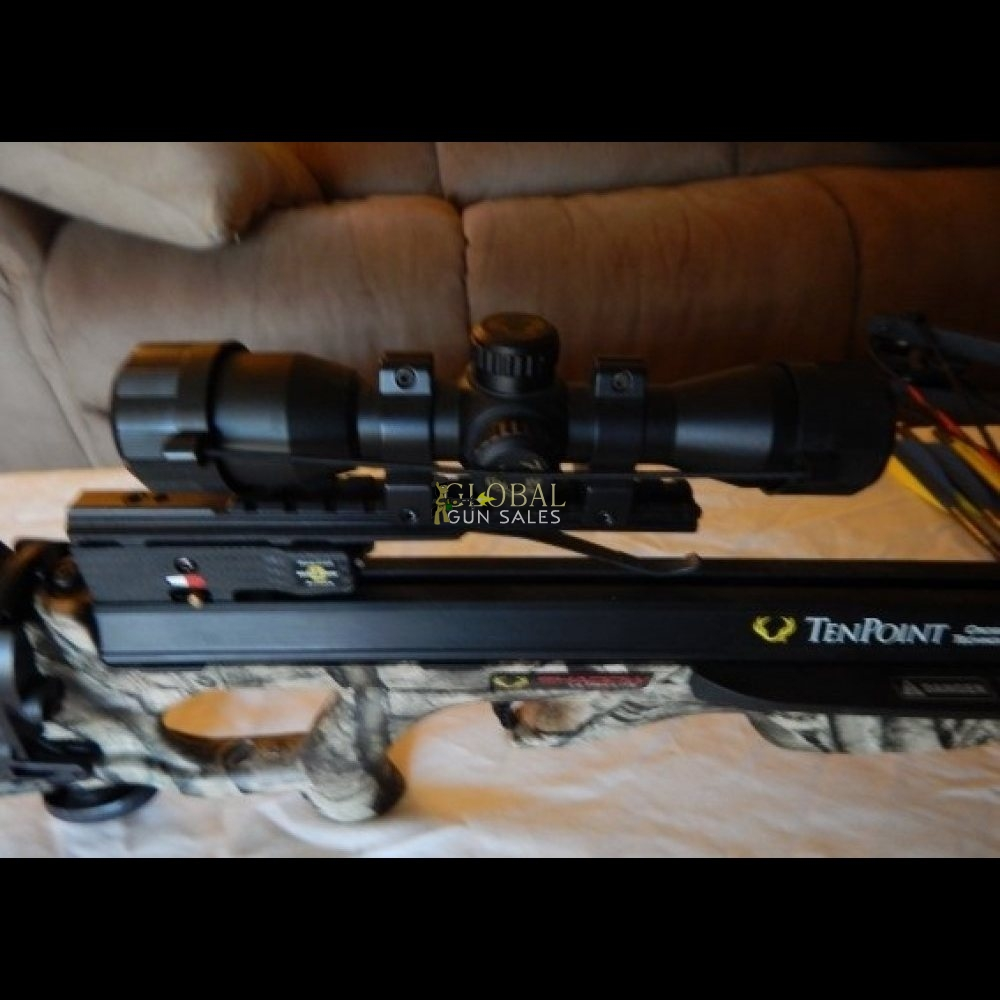 Tenpoint Shadow Ultralite with Scope and bolts